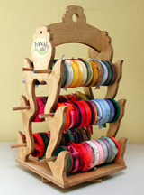 SMALL WOODEN RACK - SIDE VIEW